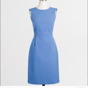 J.Crew Factory Fitted Sleeveless Dress Sz 10